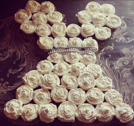 Klaire's Bridal Shower Cupcakes